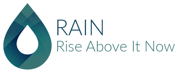 Rise above it now logo